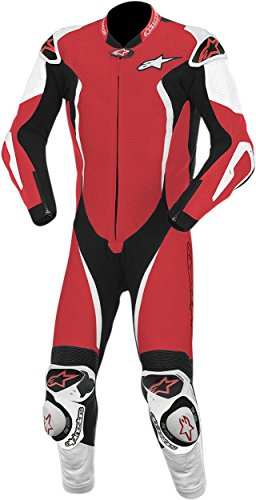 Alpinestars GP Tech One-Piece Leather Suit - 54/Red/White/Black