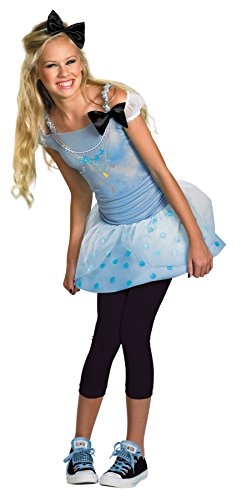 UHC Tween Girl's Disney Princess Cinderella Fancy Dress Halloween Costume, Tween (Cinderella Costumes For Tweens)