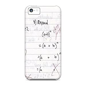 New Fashion Premium Tpu Case Cover For Iphone 5c - Funny Math Problem