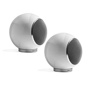 Elipson Planet L - Altavoces (single speaker, universal, Mesa/estante, 80 W, 48 - 20000 Hz, 6 Ohmio) Color blanco