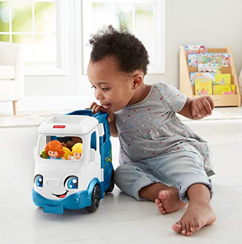 41fsn0dWtbL - Fisher-Price Little People Songs & Sounds Camper