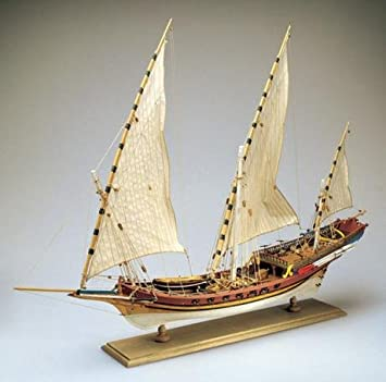 AMATI 1427. JABEQUE Pirata ÁRABE. Kit MAQUETA Barco DE ...