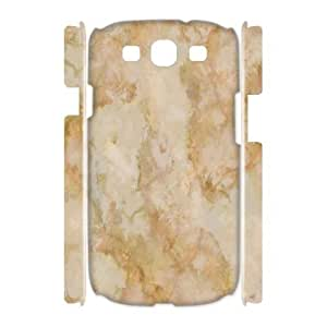Qxhu Marble Art patterns Protective Hard Back Fits Cover Case for Samsung Galaxy S3 I9300 3D case