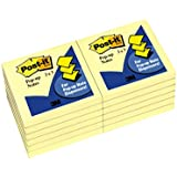 Post-it Pop-up Notes, 3 x 3-Inches, Canary Yellow, 12 pads