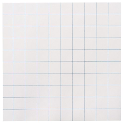 School Smart Graph Paper, 10 x 10 Inches, White, 500 Sheets