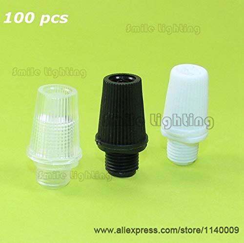 NAHASU Cable Glands | Strain Relief Black Plastic Cable Strain Relief Wire Clamp Cable Grip Wire Clip Cord Grip 100pcs/lot