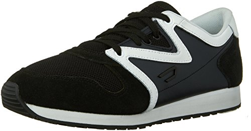 Diesel Mens Black Jake E-boojik Fashion Sneaker Zwart / Wit