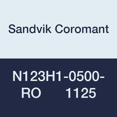 N123H1-0500-RO 1125 Neutral Cut Sandvik Coromant N 1125 Grade, Carbide CoroCut 1-2 Insert for Profiling Ti,Al