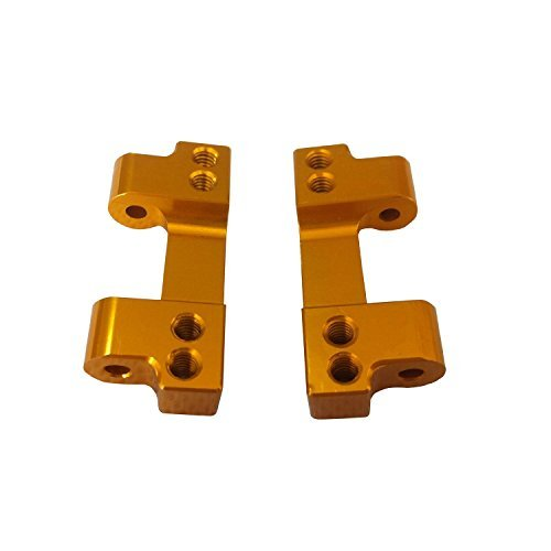 Alloy Rear Arm Mount Set for 1:10 RC Team Associated RC10 - Gold [parallel import (Alloy Rear Arm Mount)
