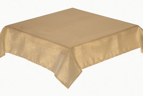 PACK OF 4 NAPKINS. GLITTERAZZI, CHOICE OF GOLD OR SILVER. EASYCARE FABRIC (GOLD) by Glitterazzi