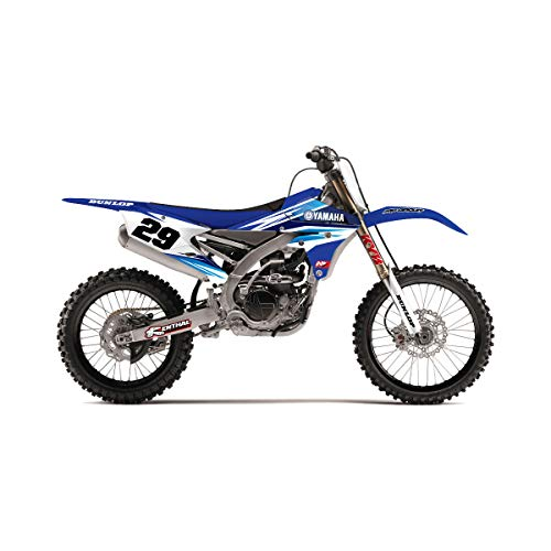 SCATTER Team Racing Graphics kit compatible with Yamaha 2003-2004 YZ 250F//450F