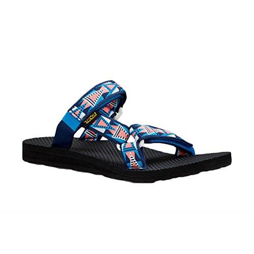 Teva Universal Slide W's - Sandalias Mujer azul (mosaico)