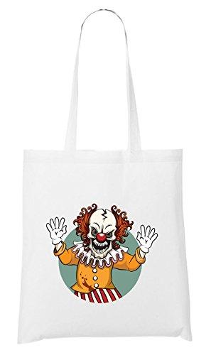 Evil Clown Bag White Certified Freak
