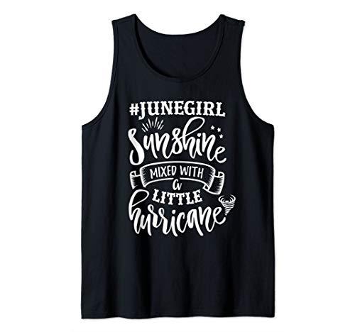 June Girls Are Sunshine Mixed Little Hurricane Tank Top