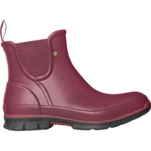 On Bogs Slip Rubber Burgundy Womens Boots Amanda tqq7Pv