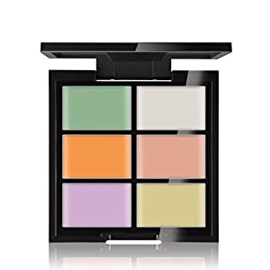 VESNIBA New 6 Color Concealer With A Light Foundation Cream
