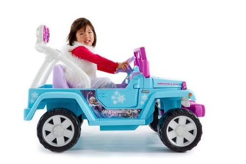 (Power Wheels Disney Frozen Jeep Wrangler)