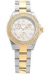 Invicta Women's 17358 Angel Quartz 3 Hand Rose Gold Dial Watch