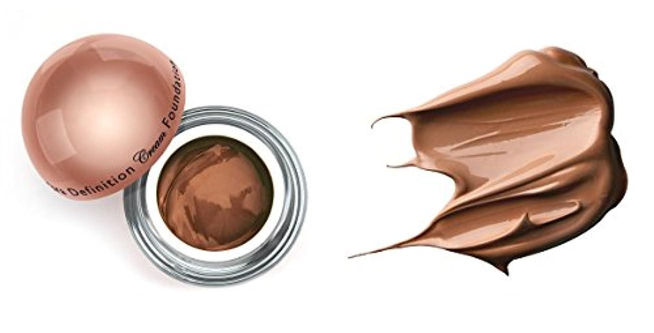 基礎宿題任命LA Splash (無料なめらかな顔のシートマスク付き)LA-スプラッシュウルトラ定義されたクリームファンデーション 1オンス ココア/ 1オンス(20208)