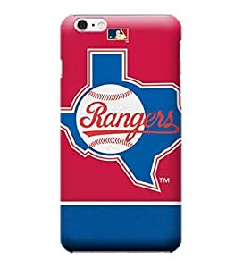 MLB-Vintage Rangers Skin Tough Phone Case Covers,Stylish Protective Covers Compatible For iphone 6(4.7) by mcsharks
