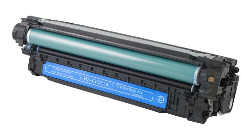 V4INK Remanufactured Toner Cartridge Replacement for HP CE251A ( Cyan )