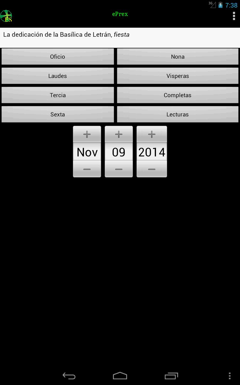 ePrex Liturgia de las horas: Amazon.es: Appstore para Android