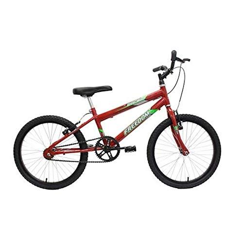 Bicicleta Aro 20 Racer Verm Freedom
