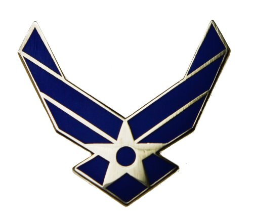 USAF United States Air Force Traditional symbol WINGS pin (Air Force Pins)