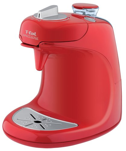 T-FAL-pod coffee maker direct serve red CW1005J by T-fal