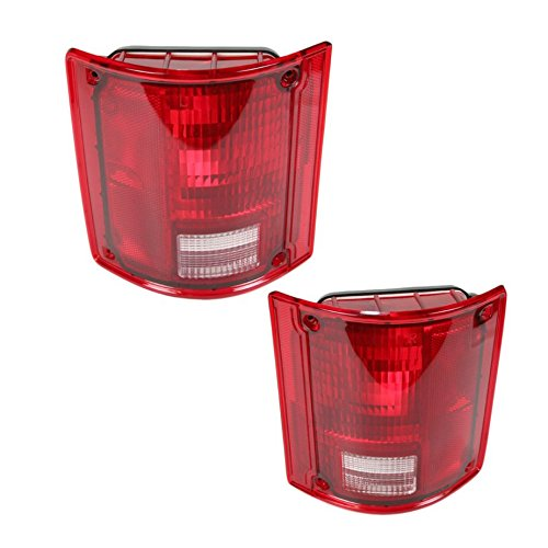 Taillight Taillamp Pair Set of 2 for GMC Jimmy Chevy 1500 Blazer Pickup Truck -