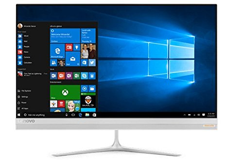 Lenovo Ideacentre AIO 520S 23-Inch Desktop Computer (Intel Core i5-7200U, 16GB DDR4, 1TB HDD, Intel HD Graphics 620, Windows 10), F0CU0001US