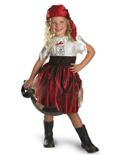 Sassy Swashbuckler Sz 3T To 4T (Sassy Pirate Costume)