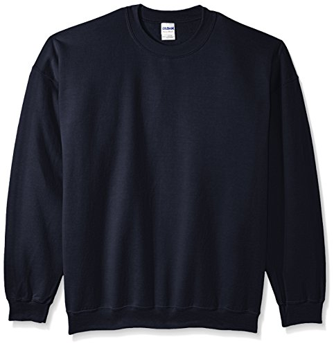 Gildan Men's Fleece Crewneck Sweatshirt Navy XXX-Large (Tall Crewneck Sweatshirt)