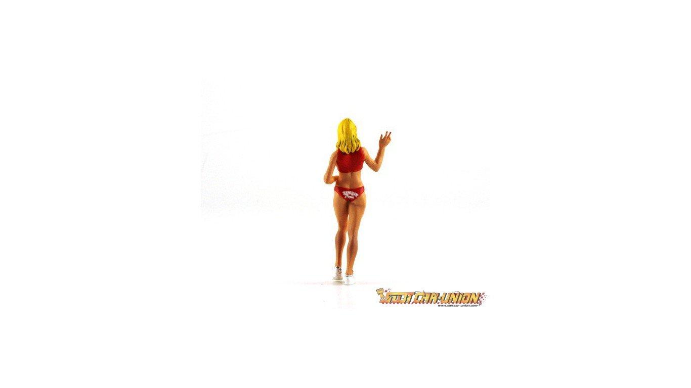 Hawaian Tropic LE MANS miniatures Figurine Deborah