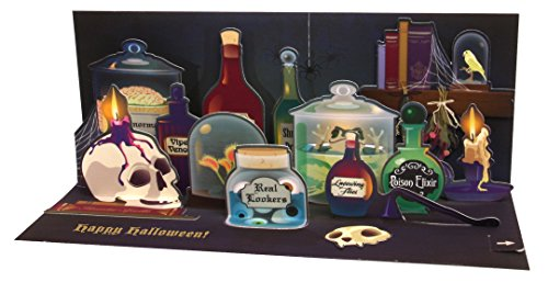 Panoramic Card (Up With Paper Pop-Up Panoramics Sound Greeting Card - Spooky Apothecary)