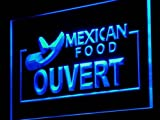 OUVERT Mexican Food Cafe Shop LED Sign Neon Light Sign Display j167-b(c)