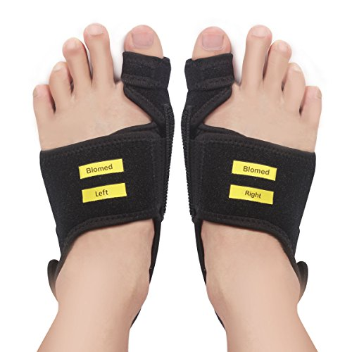 Bunion Corrector and Bunion Relief Splints,Big Toe Straightener Pads for Hallux Valgus Pain,with Free Gel Separator Protector for Women&Men by Blomed by Blomed