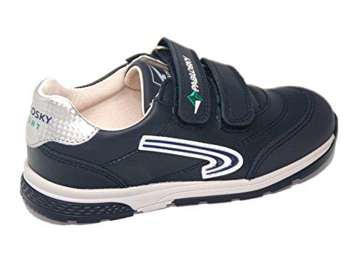 Pablosky , Chaussures de ville à lacets pour homme bleu bleu
