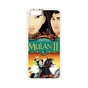 Mulan II iPhone 6 4.7 Inch Cell Phone Case White Tpykw