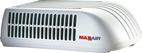 MaxxAir 00-325001 TuffMaxx A/C Shroud - Polar White Air Shroud