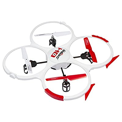 UDI 818A HD Drone Quadcopter with 720p HD Camera Headless Mode with Return to Home Function and Extra Batteries in Exclusive White