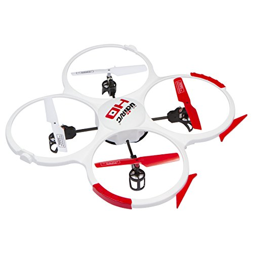 UDI 818A HD Drone Quadcopter with 720p HD Camera Headless Mode, Return to Home Function and Batteries, White