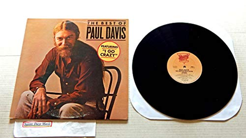 The Best Of Paul Davis - Bang Records 1982 - 1 Used Vinyl LP Record - 1982 DJ Promo Reissue Pressing FZ 37973 - I Go Crazy - Darlin' - Keep Our Love Alive - Ride 'Em Cowboy - Superstar (The Best Of Paul Davis)