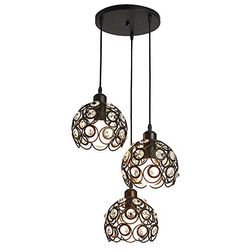 Triple Pendant Chrome Kitchen Island Light in US - 5