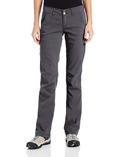 prAna Living Women's Tall Inseam Halle Pant, Coal, 4