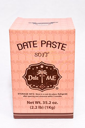 100% All natural date paste/spread (2.2lbs) The whole food sweetener for baking, snacks, smoothies and more