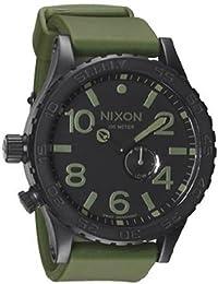 Nixon Men's NXA0581042 Tide Phase Display Sub- Black Dial Watch