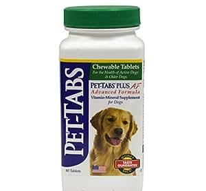 Pet Tabs Plus Advanced Formula Vitamin Supplement, 60 Count