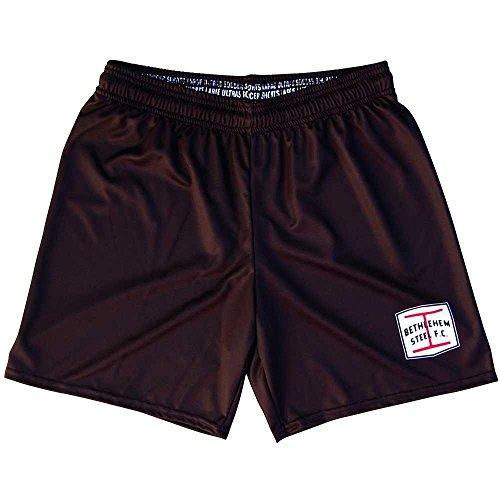 fan products of Bethlehem Steel FC Ultras Soccer Shorts, Black, Adult Medium