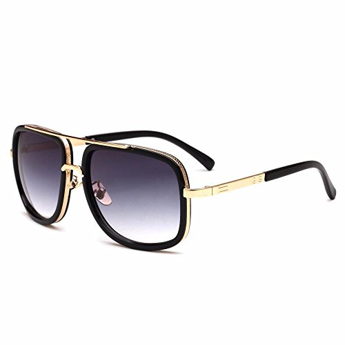 de E Gafas Sol Gafas de Metal Regalos Moda Hombres virola Gafas Los de Sapo Axiba Sol creativos qa1xwETc